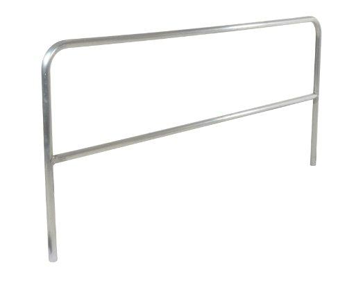 Vestil ADKR-8 Aluminum Pipe Safety Railing, 1-5/8