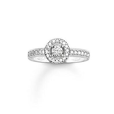 Thomas Sabo - Women Round Diamond Ring DJERV6vl8E
