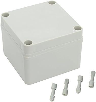 lemotech 100 mm x 100 mm x 75 mm a prueba de polvo IP65 caja de ...