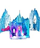 Frozen Magical Lights Palace Playset And Elsa Doll.