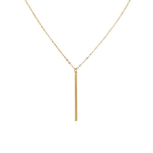 Zealmer Simple Pendant Necklace Choker