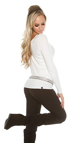 KouCla - Jerséi - para mujer Weiß