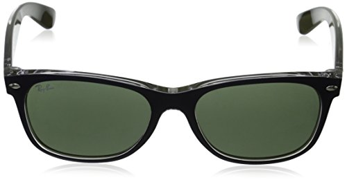 6188 New And Ray Ban sol Multicolor de Blue Wayfarer hombre para Gafas Transparent 4w7q5gSw