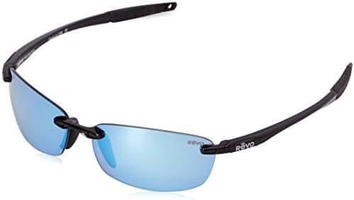 Revo Descend E RE 4060 Women's Polarized Rimless Sunglasses