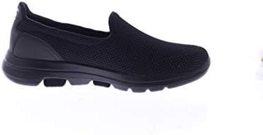 SKECHERS GO WALK 5 Womens Shoes, Black (Black), 7 UK (40 EU