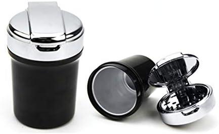 EUEMCH 灰皿車の灰皿車の内部の世帯のタバコの灰皿が付いている携帯用車の灰皿車