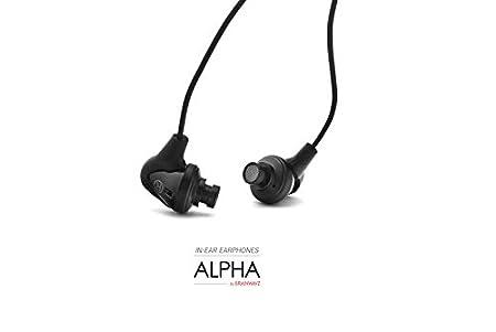 Brainwavz Alpha in Ear Headphones … In-Ear Headphones at amazon
