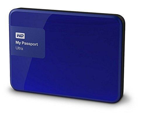 WD My Passport Ultra 1TB Portable External Hard drive (Blue)