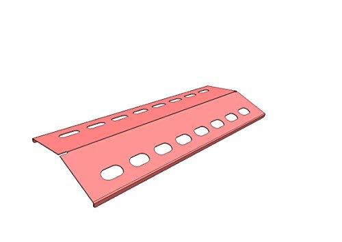 Landmann Gasgrill Brennerabdeckung : Hz1bbq de flammenverteiler 395mm x 150mm *v2a* edelstahl silber matt