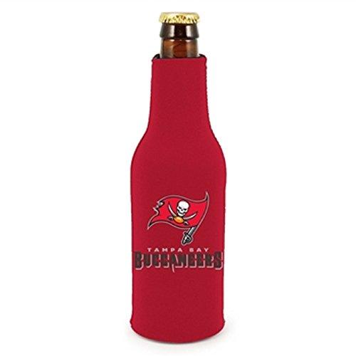 (NFL Tampa Bay Buccaneers Black Neoprene Bottle Koozie)