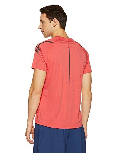 Red Bleu Top Hommes shirt Asics Foncé Course Shortsleeve Icon De Vêtements T ZRnABzP