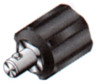 International Dinse Type Machine Plug Adapter, Dinse Male Adapter Connection (2 Pack)