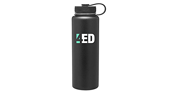 Gregs Automotive Bowtie H2GO Surge Sports Water Bottle Compatible with Chevrolet Chevy Bundle with Driving Style Decal