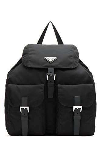 Prada Women's 1Bz811v44f0002 Black Polyester Backpack (Prada Sport Shoes Women)
