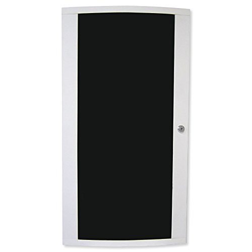 Channel Vision Smoked Plexi-Glass Hinged Enclosure Door, 28 In. -