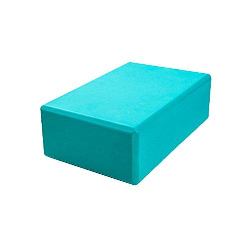 Rosenice briques Yoga Bloc de mousse EVA haute densité Idéal pour le yoga, pilates, entraînement, fitness (Vert)