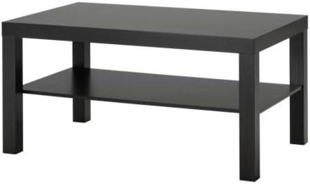 Lack Coffee tavolo in Black by IKEA