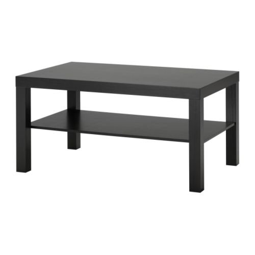 Amazon Com Ikea Lack Coffee Table Black Brown 1 Standard 2