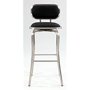 Amazon Com Chintaly Imports Modern Backless Counter Stool