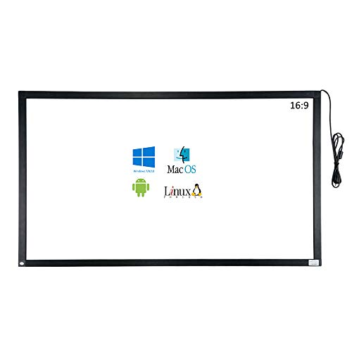 GreenTouch Infrared Touch Overlay 10 Points IR Touch Frame with USB Interface Free-Drive Plug and Play (40) ()
