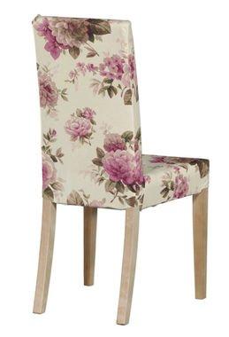 À Fleuri Pour HarryCourte Edimbourg Rose Housse Chaise Ikea Motif bv76gYfy
