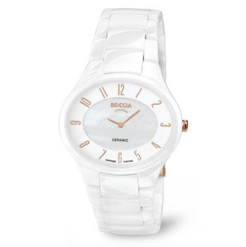 3216-03 Ladies Boccia Titanium Ceramic Watch