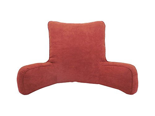Arlee Suede Oversized Bedrest Lounger, (Arlee Pillow)