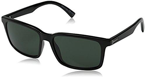 (Von Zipper Pinch Sunglasses Black Gloss/Vintage Grey & Carekit Bundle)