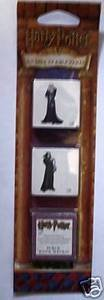 Harry Potter Professor Snape Costume (Harry Potter Rubber Tattoo Stamp Strip: Albus Dumbledore & Severus Snape Plus Ink Pad)