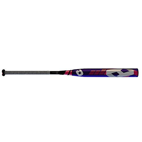 Wilson Demarini 2016 CF8 Hope Fastpitch Bat (-10), Pink/Purple, 33