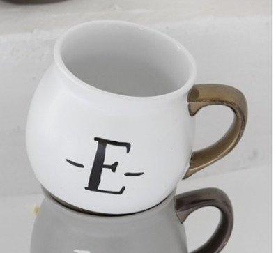 Laxba taza de café Carta Inglesa Taza de té de Leche Taza de café ...