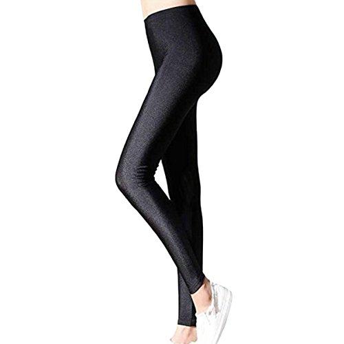 Womtop Women Leggings Winter Elastic Warm Thick Velvet Stretch Skinny Leggings Pants Women Trousers (M, Black) ()