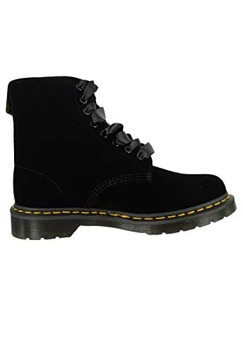 Adult's Dr Unisex Martens Boots 1460 Velvet noir Noir Pascal qzwTzC