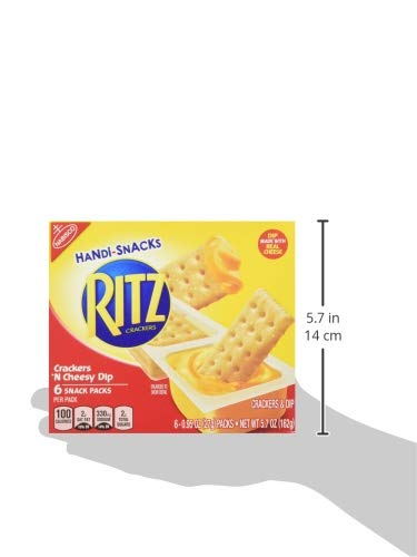 Handi Snacks Ritz Crackers 'n Cheese Dip, 5.7 Ounce (Pack of 12) by Ritz (Image #9)