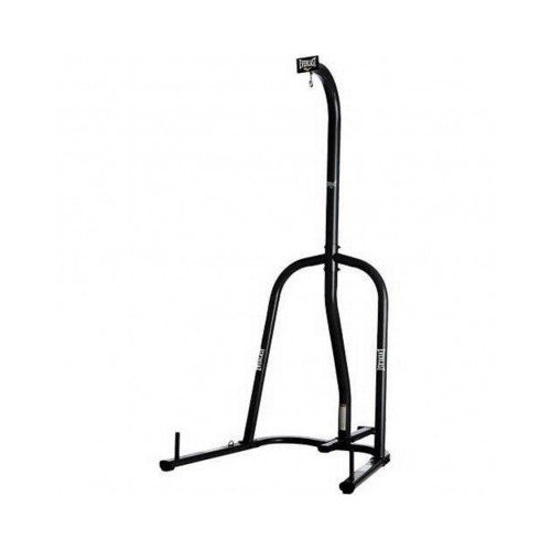 Everlast Single-Station Heavy Bag Stand Perfect for home fitness, micro gyms and other smaller spaces, (BLACK)