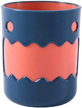 Zahnbürste Tasse Cartoon Tiere Muster Wasch Zahnbecher Haltbare Big Mouth Paare Tassen Freundliche Badezimmerzubehör Waschen hellgelb