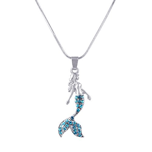 Candygirl Fairytale Mermaid Pendant Necklace Jewelry - Jewelry Fairy Tale
