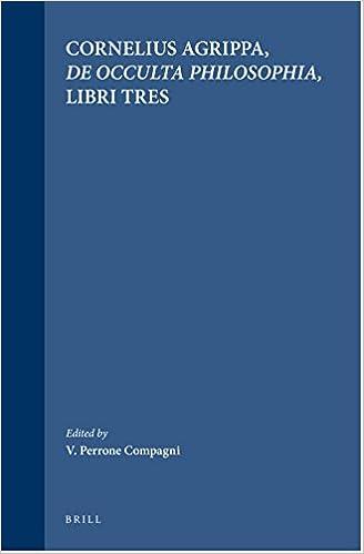 De Occulta Philosophia Libri Tres Pdf
