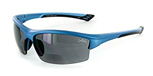 "Aloha Eyewear ""Stone Creek MX1"" Men's Sports Wrap-Around Bifocal Reading Sunglasses"