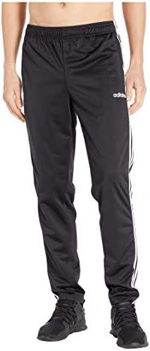[adidas(アディダス)] メンズパンツ・長ズボン・ジャージ下 Essentials 3-Stripe Tricot Open Hem Pants Black/White M [並行輸入品]