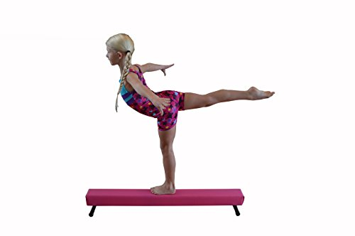 Balance Beam Pink 4 Foot Long 6.5 High