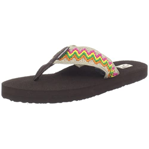 Women's Mush II Natural Flip-Flop