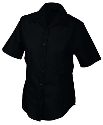 Donna Short Ladies' sleeved James Blusa Nicholson Promotion amp; Black Nero Blouse black wqYXH8E