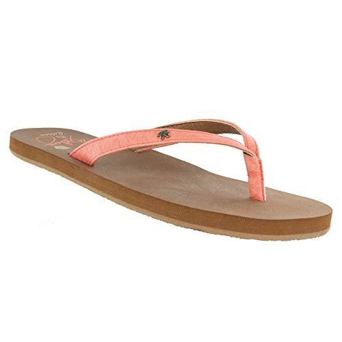 - Cobian Women's Hanalei Coral Flip Flops, 7