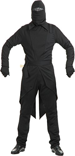 Storm Shadow Adult Costumes (GI Ninja Adult Costume Black - Large)