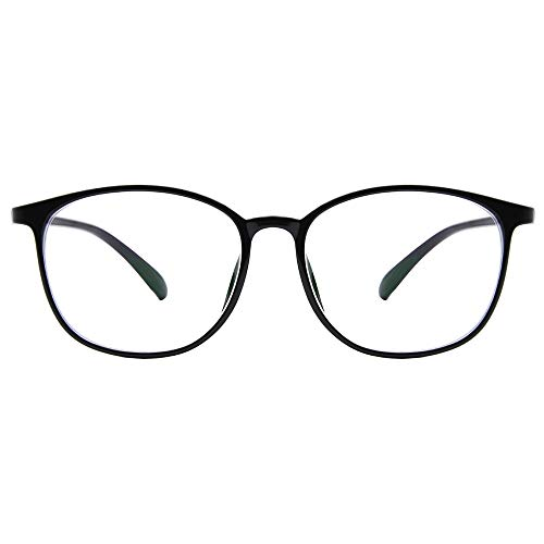 Blue Light Blocking Glasses Women, Nouritty Lightweight Computer Glasses Reduce Eyestrain and Headaches (Black)