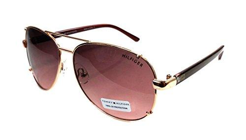 Tommy Hilfiger Bradshaw Gold/Pink Metal Aviator SunglassesTommy Hilfiger Bradshaw Gold/Pink Metal Aviator - Aviators Hilfiger Tommy