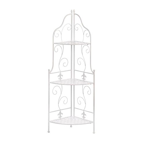 Corner Shelf Bathroom, Shelves Storage For Kitchen Fleur De Lis Corner Rack