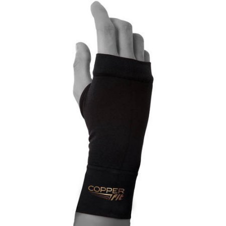 Copper Fit Compression Wrist Sleeve (M)
