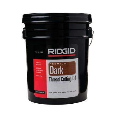 RIDGID 41600 Thread Cutting Oil, Chlorine-Free Thread Cutting Oil Designed to Prolong Equipment Life of the 418 Oiler Gun